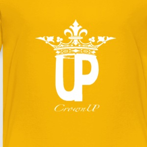 crownUP WHT EM - Toddler Premium T-Shirt