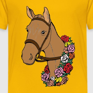 Champion Horse - Toddler Premium T-Shirt