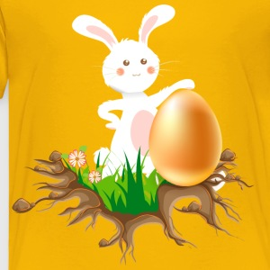 Easter bunny with Egg - Toddler Premium T-Shirt