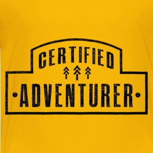 Certified Adventurer - Toddler Premium T-Shirt