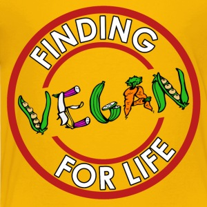 Finding Vegan - Toddler Premium T-Shirt