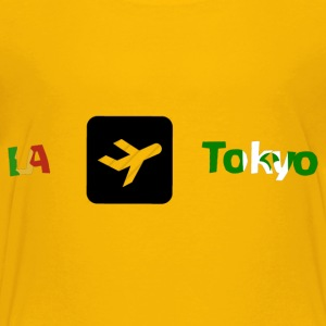 From LA to Tokyo - Toddler Premium T-Shirt