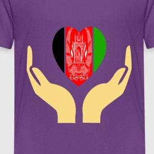 I love Afghanistan - Toddler Premium T-Shirt