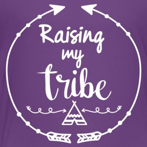 Boho style Raising my tribe - Toddler Premium T-Shirt