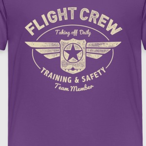 Flight Crew - Toddler Premium T-Shirt