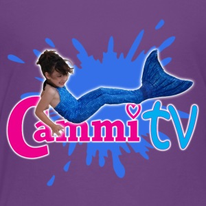 Cammi TV Mermaid Splash Logo - Toddler Premium T-Shirt