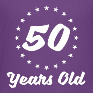 50 Years Old - Toddler Premium T-Shirt