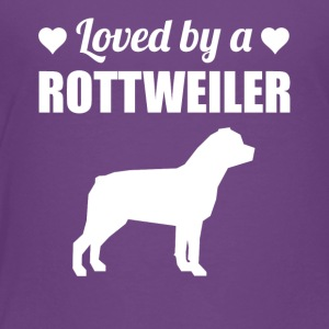 Loved By A Rottweiler - Toddler Premium T-Shirt