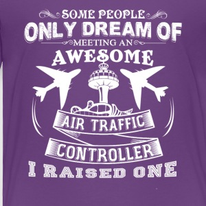 Air Traffic Controller Mom Shirt - Toddler Premium T-Shirt