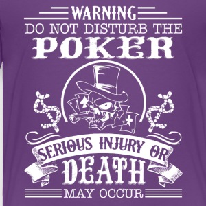 Poker Tee Shirt - Toddler Premium T-Shirt