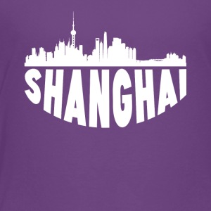 Shanghai China Cityscape Skyline - Toddler Premium T-Shirt