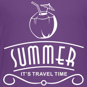 Summer Travel Time - Toddler Premium T-Shirt