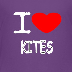 I LOVE KITES - Toddler Premium T-Shirt