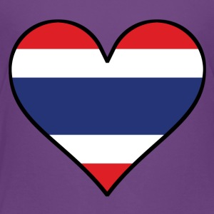 Thai Flag Heart - Toddler Premium T-Shirt