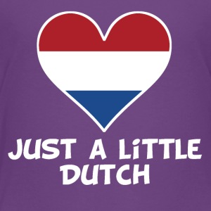 Just A Little Dutch - Toddler Premium T-Shirt