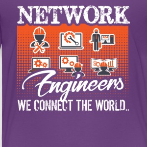Funny Network Engineer Shirt - Toddler Premium T-Shirt