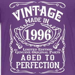 Vintage Made in 1996 Genuine Original Parts - Toddler Premium T-Shirt