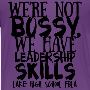 LAKE HIGH SCHOOL FBLA - Toddler Premium T-Shirt