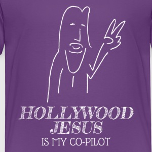 Hollywood Jesus Vertical (Light) - Toddler Premium T-Shirt