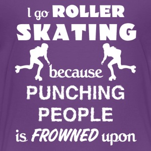 Roller Skating Love Gift- cool shirt, geek hoodie - Toddler Premium T-Shirt
