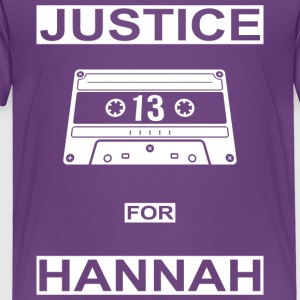 Justice for Hannah - Toddler Premium T-Shirt