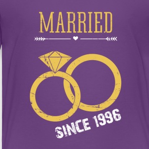 Married since 1996 - Toddler Premium T-Shirt