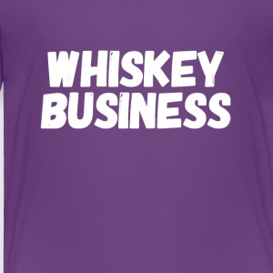 Whiskey business - Toddler Premium T-Shirt