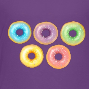 Rainbow Donuts - Toddler Premium T-Shirt