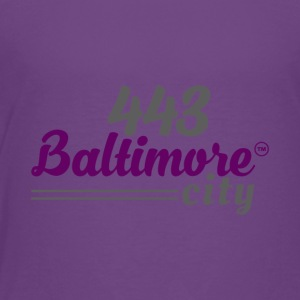 443 BALTIMORE CITY - Toddler Premium T-Shirt