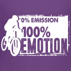 0% Emission - 100% Emotion - Toddler Premium T-Shirt