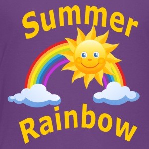 Summer Rainbow - Toddler Premium T-Shirt