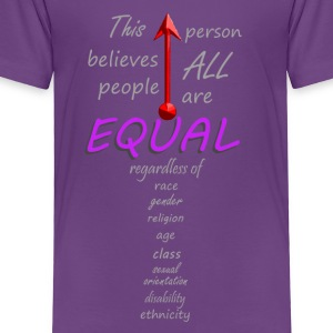 Equal - Toddler Premium T-Shirt