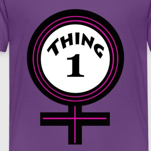 thing 1 female - Toddler Premium T-Shirt