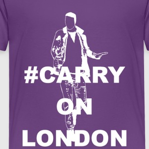 Carry On London White - Toddler Premium T-Shirt