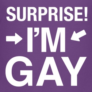 Surprise Im gay | lgbt t-shirt gay t-shirt - Toddler Premium T-Shirt