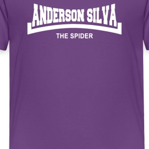 Anderson The Spider Silva Slogan - Toddler Premium T-Shirt
