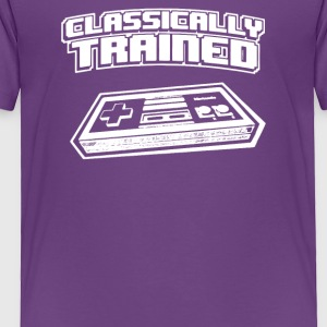 Classically Trained Video Game Console - Toddler Premium T-Shirt