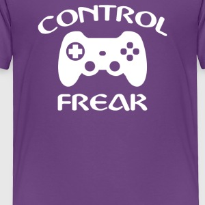 Control Freak Funny Gamer - Toddler Premium T-Shirt