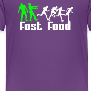 Zombie Fast Food - Toddler Premium T-Shirt