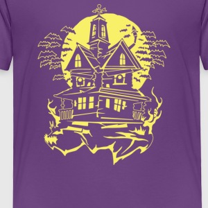 Haunted House - Toddler Premium T-Shirt