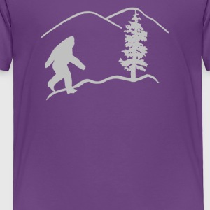 Oregon Bigfoot - Toddler Premium T-Shirt