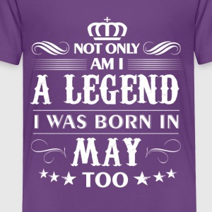 May month Legends tshirts - Toddler Premium T-Shirt