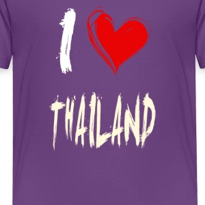 I love THAILAND - Toddler Premium T-Shirt