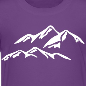 I LOVE the mountains - Toddler Premium T-Shirt