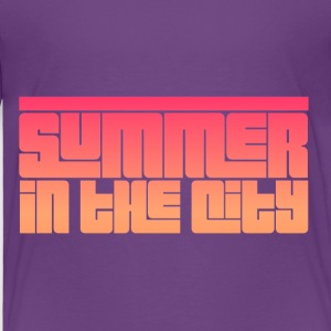 Summer in the City - Toddler Premium T-Shirt