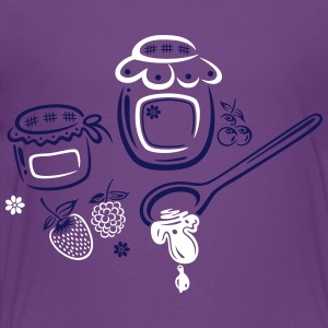 Large jars with jam and fruits - Toddler Premium T-Shirt