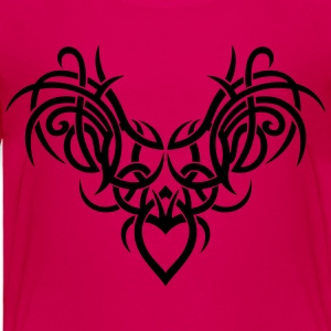 Tribal ornament with wings and heart. - Toddler Premium T-Shirt