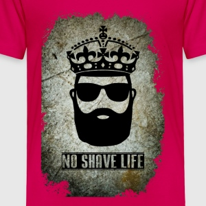 No Shave Life Beard - Toddler Premium T-Shirt