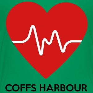 Heart Coffs Harbour - Toddler Premium T-Shirt