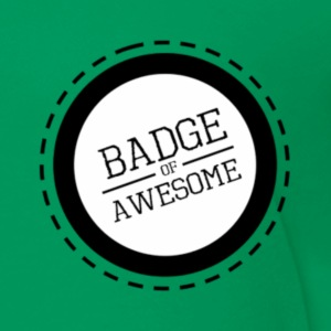 Badge of awesome - Toddler Premium T-Shirt